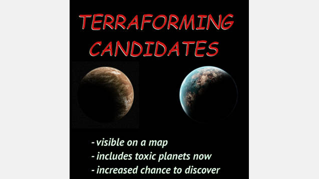 Terraforming Candidates For Stellaris - Stellaris mod