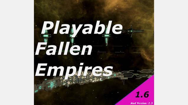 Twinks Playable Fallen Empire Mod () STellaris - Stellaris mod